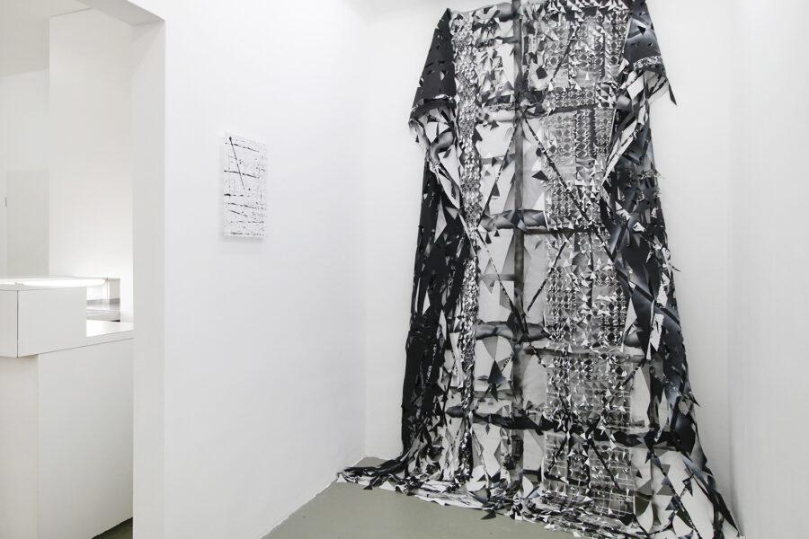0+255_Studiogalerie, Ausstellungsansicht, Gabriele Basch